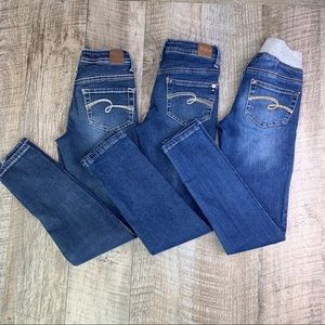 Justice Jeans Lot of 3 ~ Sz 8/10